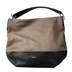 Furla in two-tone leather