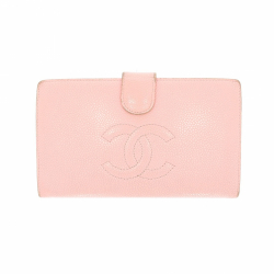 Chanel wallet in pink leather