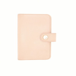 Chanel agenda in light pink leather