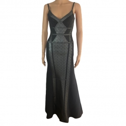 Herve Leger Long dress with straps