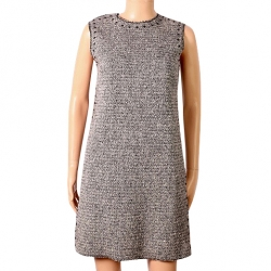Valentino Dress in chiné wool