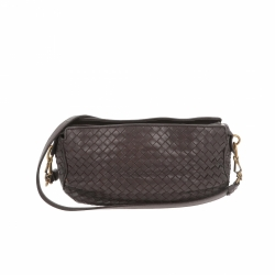 Bottega Veneta Crossbody bag in brown leather