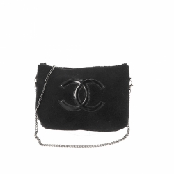 Chanel clutch with removable chain strap