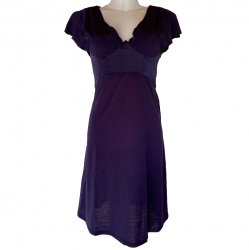 Maje V Neck Dress