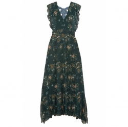 See By Chloé Printed georgette maxi dress