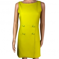 Versace Anise green dress