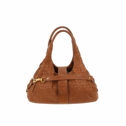 Bottega Veneta handbag in brown leather