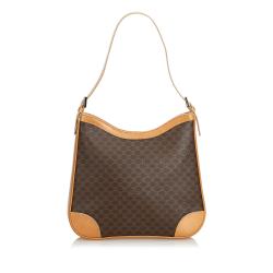 Celine Macadam Jacquard Shoulder Bag
