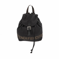 Fendi backpack in black fabric