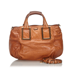 Chloé Leather Ethel Satchel