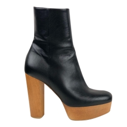 Stella McCartney Wooden heel boots