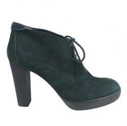 Hogan Sweden heels green Boots