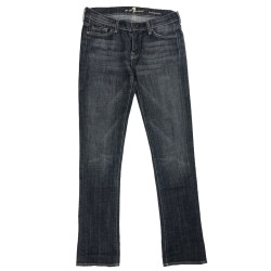 7 For All Mankind Grey Roxanne 28