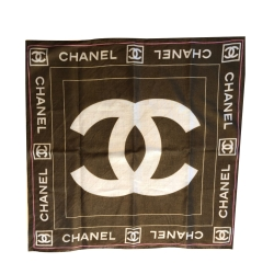 Chanel Small cotton scarf