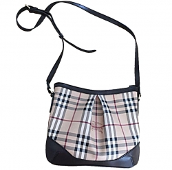 Burberry Crossbody Haymarket check