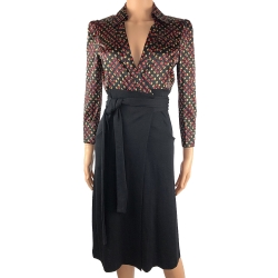 Diane von Furstenberg Silk and wool dress