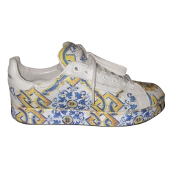 Dolce & Gabbana Blue and yellow basketball