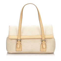 Burberry Canvas Handbag