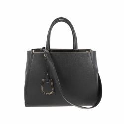 Fendi 2 Jour Handbag with attached shoulder strap