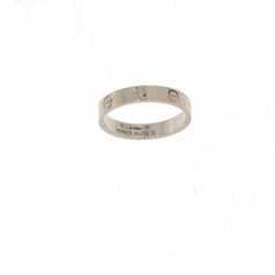 Cartier Love Wedding band ring in 18K white gold