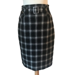 Karen Millen Beautiful wool checkered skirt