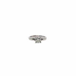 DD Gioielli 18K White Gold Solitaire ring