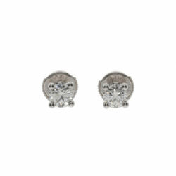 DD Gioielli 18K White Gold Earrings