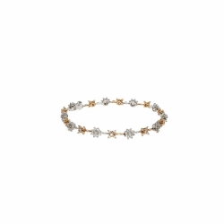 DD Gioielli Bracelet in 18K white and pink gold