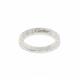 Cartier Lanières ring in 18K white gold