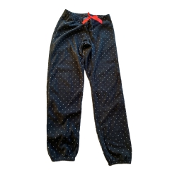 H&M Blue with white dots long trousers