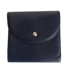Montblanc Small blue wallet