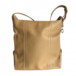 Montblanc Beige leather bag