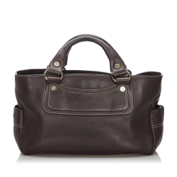 Celine AB Celine Brown Leather Boogie Italy