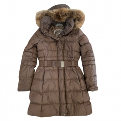Poivre Blanc Brown coat