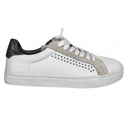 Zadig & Voltaire White and silver basketball
