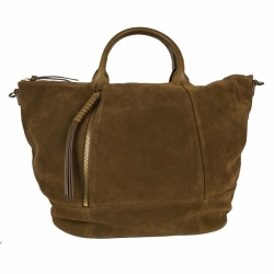 Gerard Darel Suede bag + shoulder strap