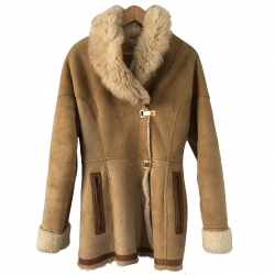 John Galliano Sheepskin coat returns woman