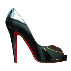 Christian Louboutin New Very Prive Patent 12mm