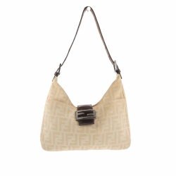 Fendi Shoulder bag in beige fabric