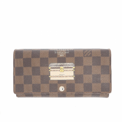 Louis Vuitton limited edition monogram Inventeur Trunks & Lock Sarah Wallet