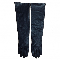Benetton Long Leather gloves