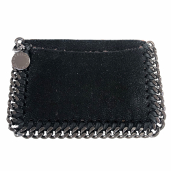 Stella McCartney Black card holder