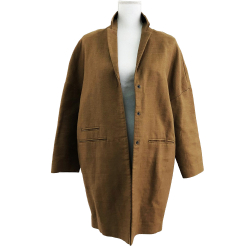 United Colors of Benetton Oversize Linen Coat