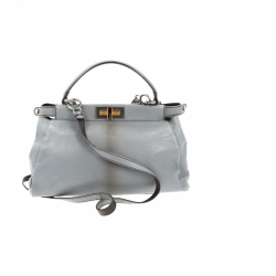 Fendi grey Peekaboo Bag