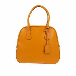 Prada Handbag in yellow canvas
