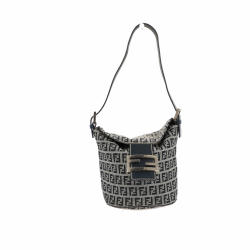 Fendi Zucchino Flap Over Bucket bag