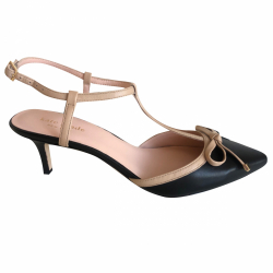 Kate Spade Black and nude pumps