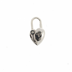 Hermès Heart Cadena Bag Charm Lock
