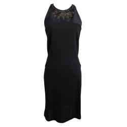Amen Italy Black viscose dress