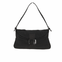 Fendi Zucchino Flap Over Shoulder bag